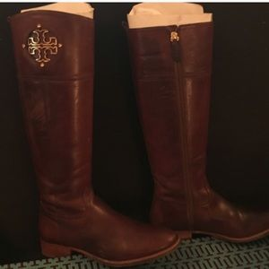 Tory Burch Wide Calf riding boots!